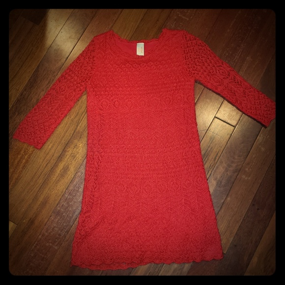 Cat & Jack Other - Girls Crochet Style Dress! Perfect for holidays!